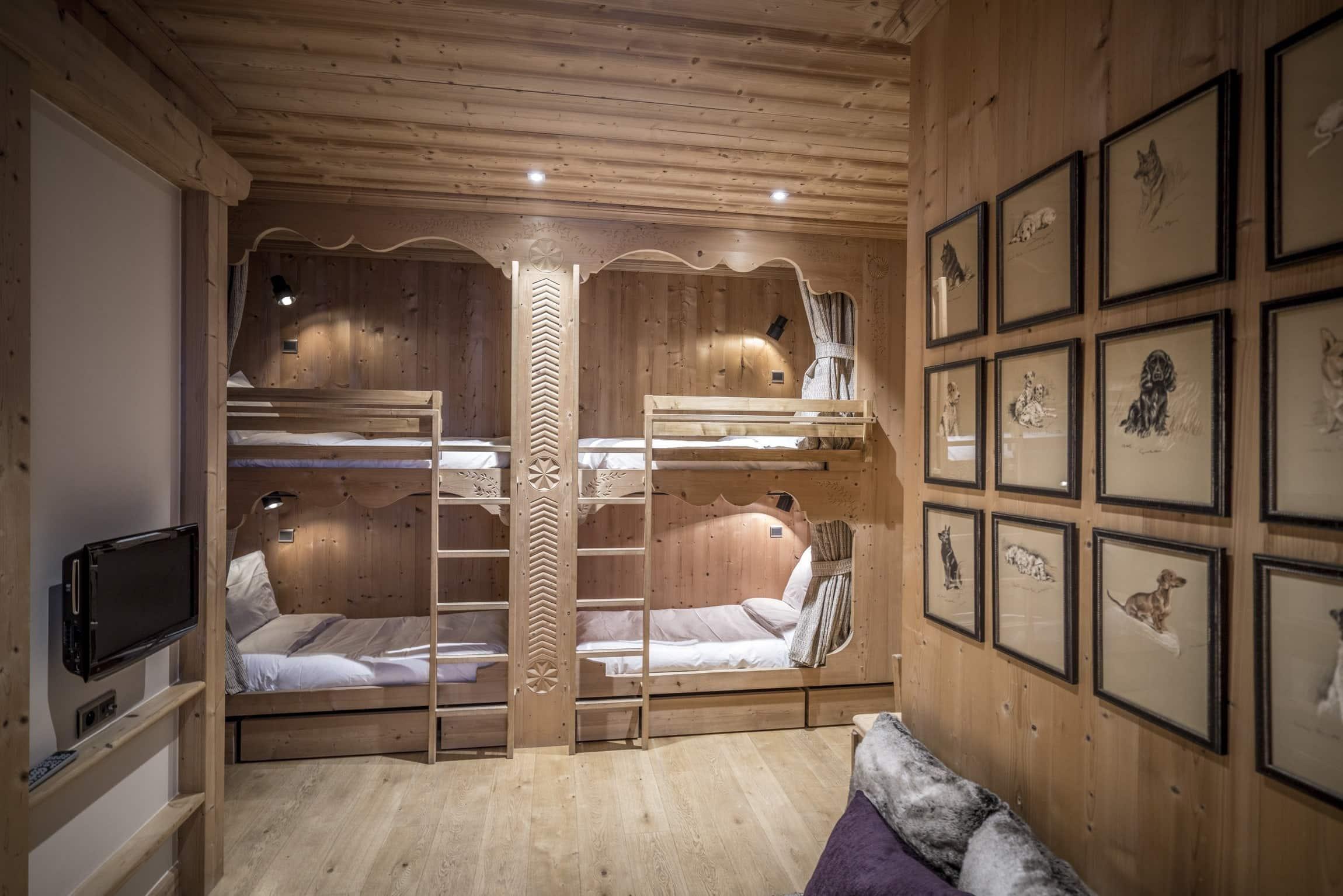 Cristal B - couchage 2 lits superposés pour enfants