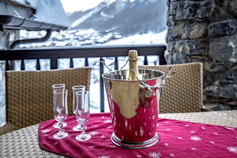 Cristal A - balcon - champagne