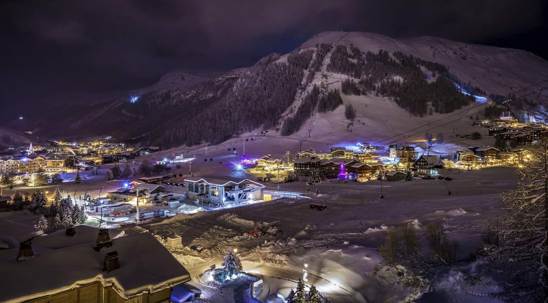 Cristal A - vue panoramique de nuit