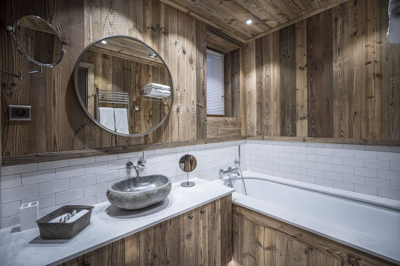Cristal B - salle de bain chalet