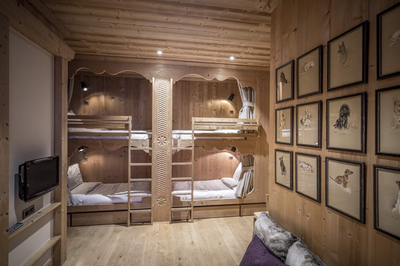 Cristal B - chambre couchage enfants